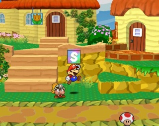 Paper Mario: The Thousand-Year Door screen shot