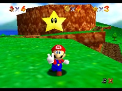 Super Mario 64 screen shot
