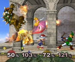 SSBM screen shot