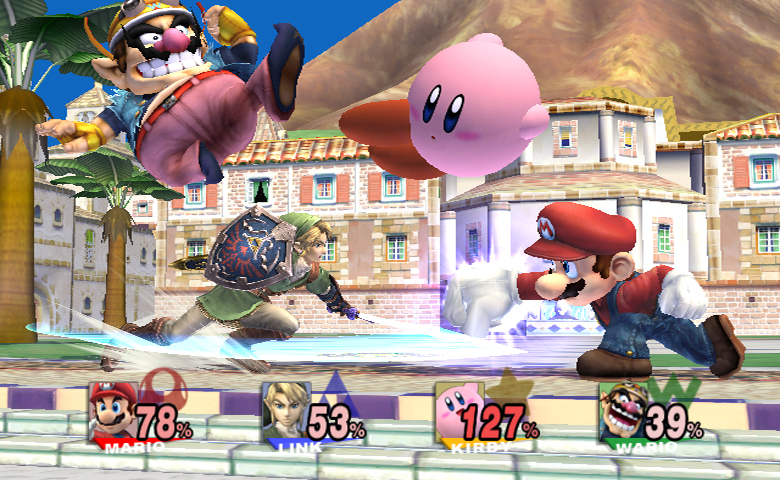 Link Vs Mario Brawl TMK | Downloads | Imag...