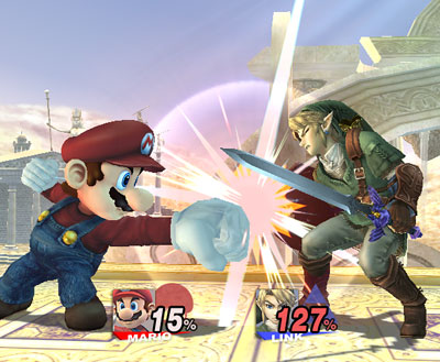Link Vs Mario Brawl Smash 101 Basic rules