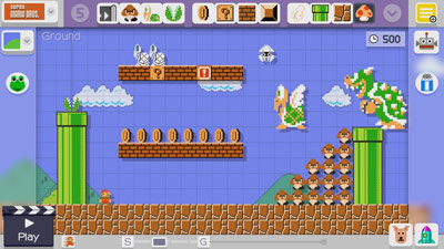 Super Mario Maker screen shot