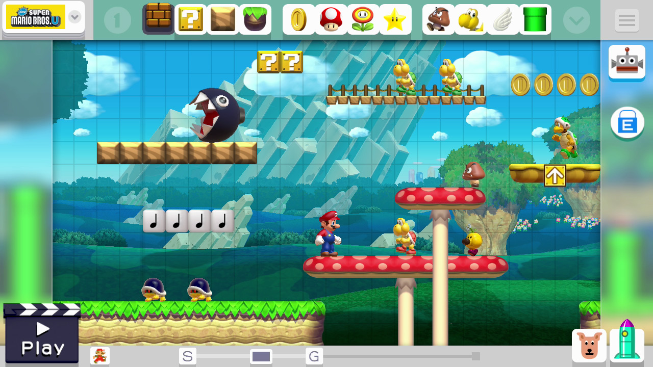 ... Kingdom \ Downloads \ Images \ Screen Shots \ Super Mario Maker (WiiU