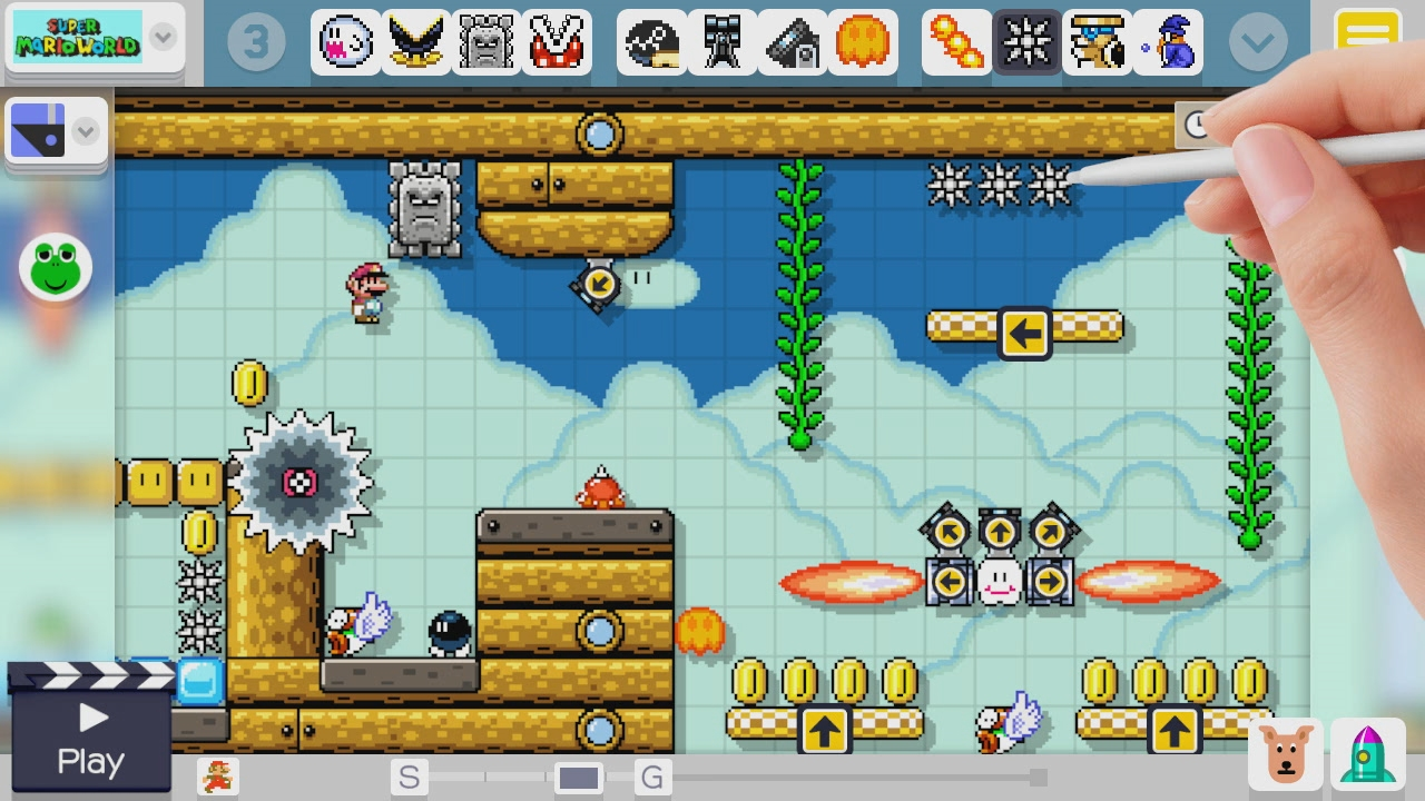 TMK | Downloads | Images | Screen Shots | Super Mario Maker (WiiU)