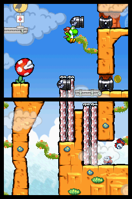 Yoshi's Island DS screen shot