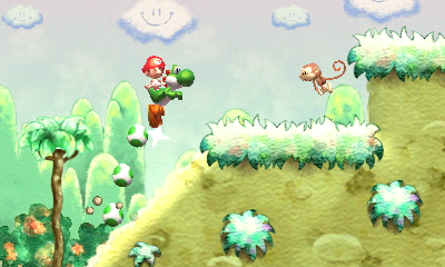 Yoshi's New Island screen shot
