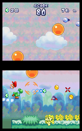 Yoshi Touch & Go screen shot
