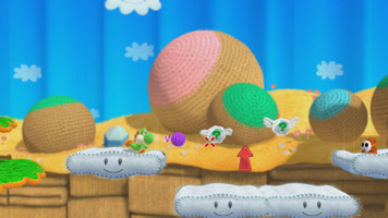 Yoshi's Woolly World screen shot