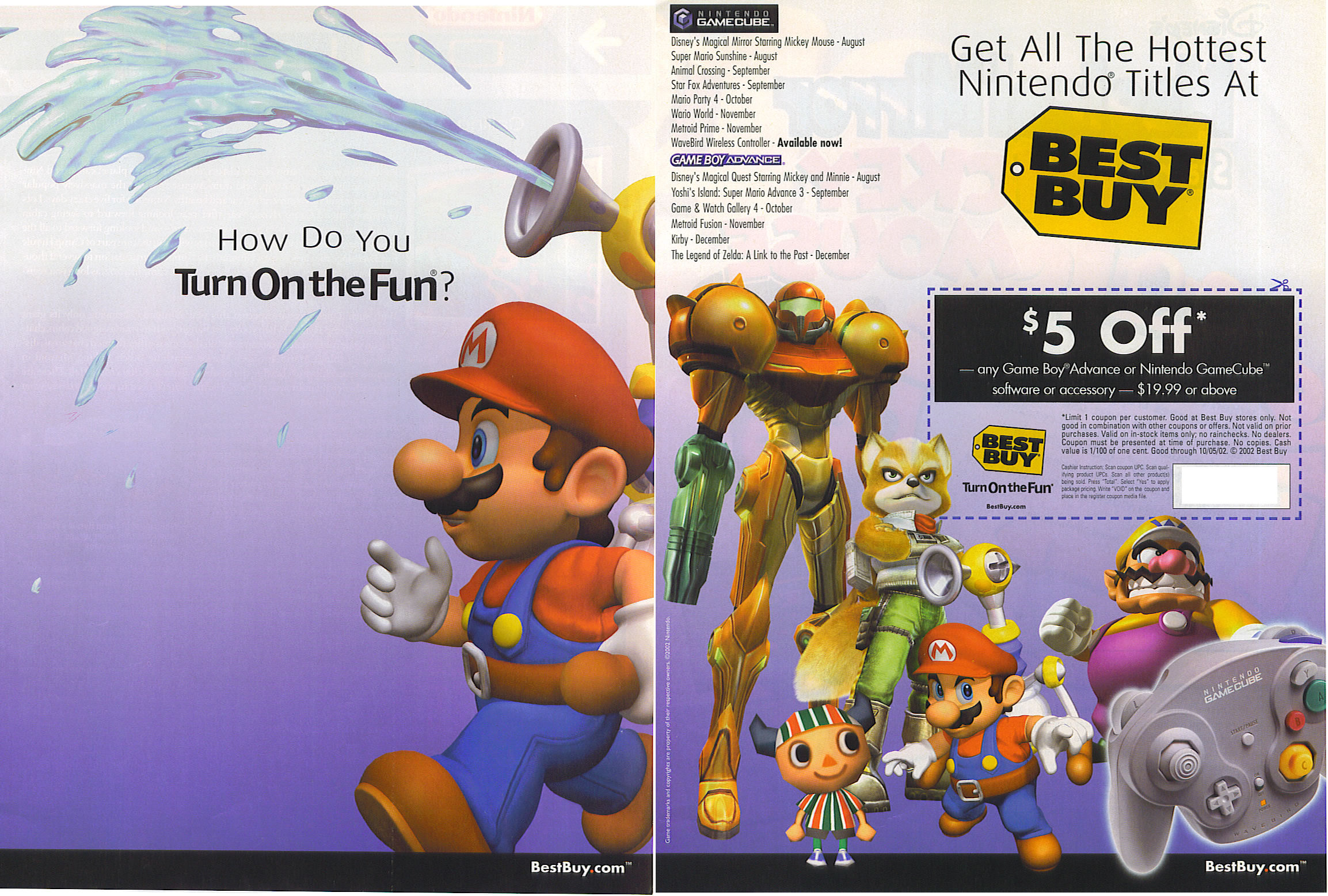 TMK | Mario Mania | Commercials & Advertisements | Print Ads