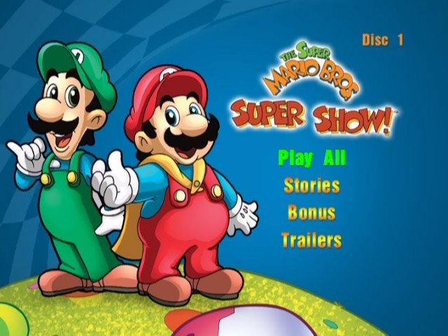 Tmk Mario Mania Dvds The Super Mario Bros Super Show