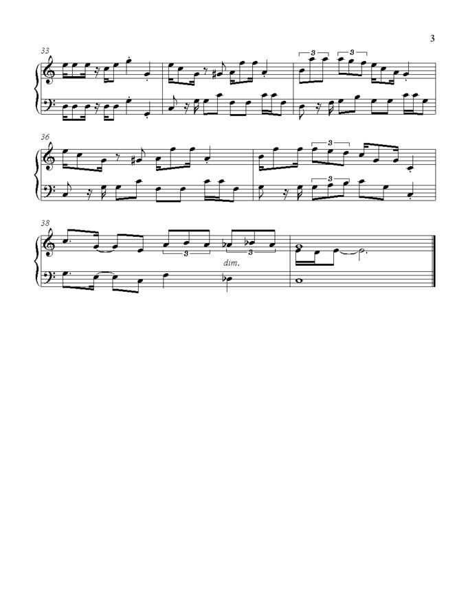 TMK : Miscellaneous : Sheet Music